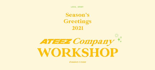 the poster of [2021 Season's Greetings]