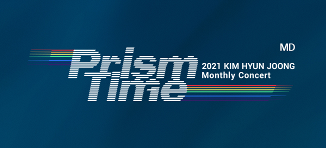 the poster of KIM HYUN JOONG Monthly Concert 'Prism Time' MD