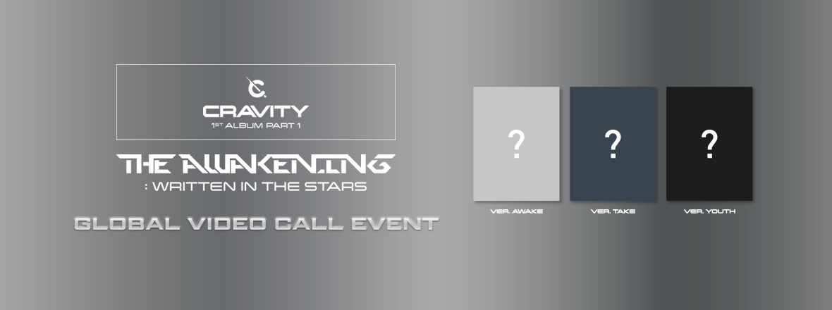 CRAVITY - 1ST ALBUM PART 1 Global Video Call Event