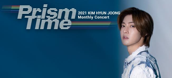 KIM HYUN JOONG Monthly Concert 'Prism Time' [Indigo]
