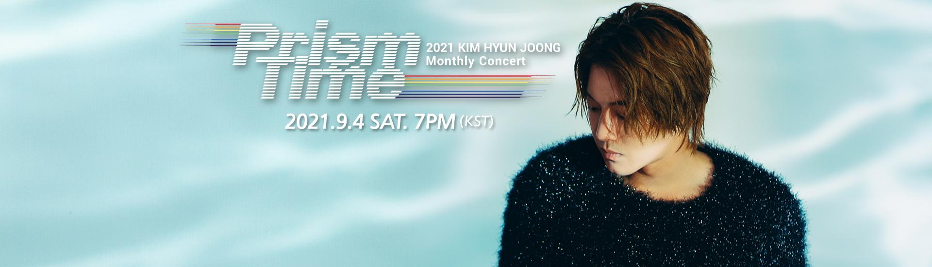 Kim Hyun Joong - KIM HYUN JOONG Monthly Concert 'Prism Time' [Blue]