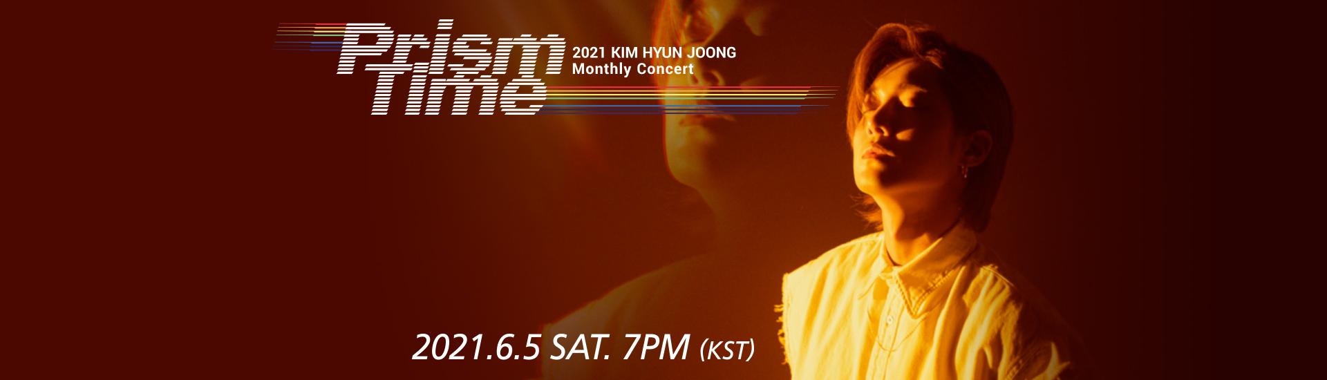 Kim Hyun Joong - KIM HYUN JOONG Monthly Concert 'Prism Time' [Orange Hug]