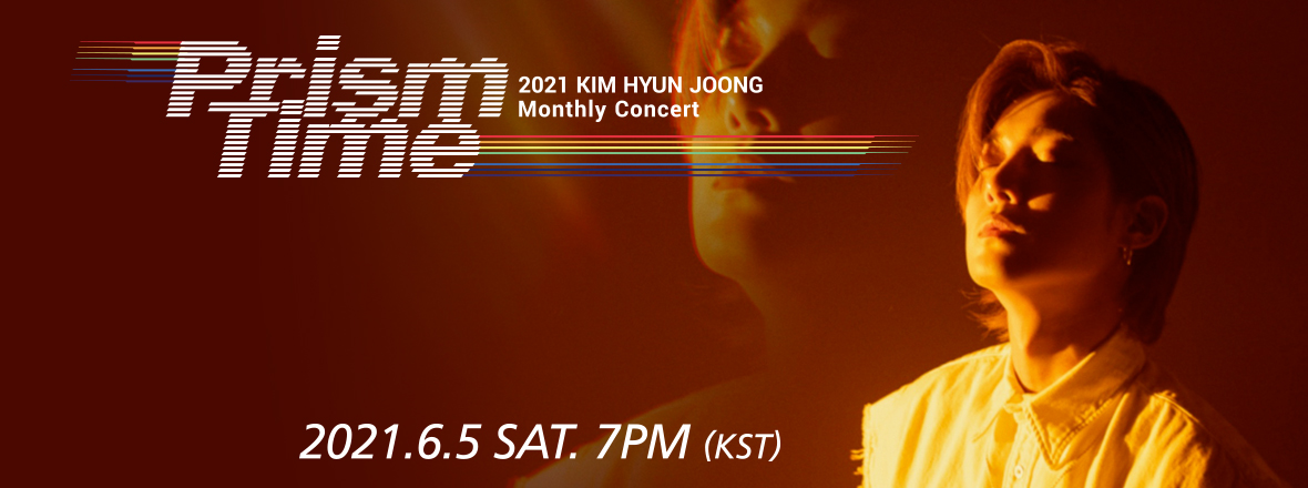 Kim Hyun Joong - KIM HYUN JOONG Monthly Concert 'Prism Time' [Orange Hug]