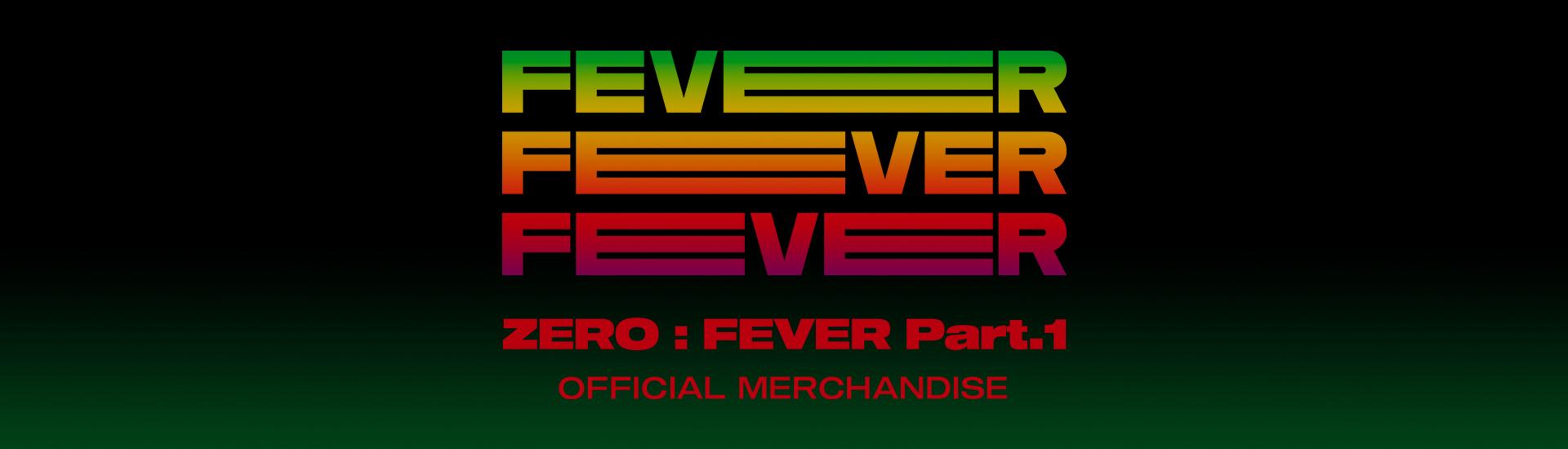 ATEEZ - ZERO : FEVER Part.1 OFFICIAL MERCHANDISE (APPARELS)