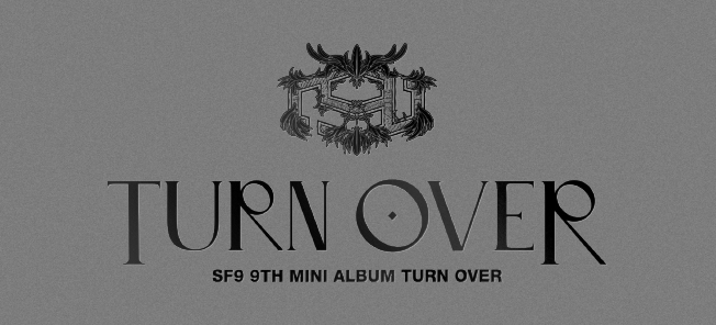 the poster of 9th MINI ALBUM 'TURN OVER' GLOBAL VIDEO CALL EVENT