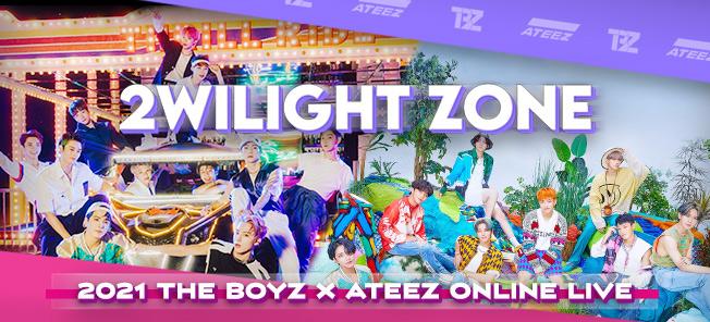 """2021 THE BOYZ X ATEEZ ONLINE LIVE : """"2WILIGHT ZONE"""""""
