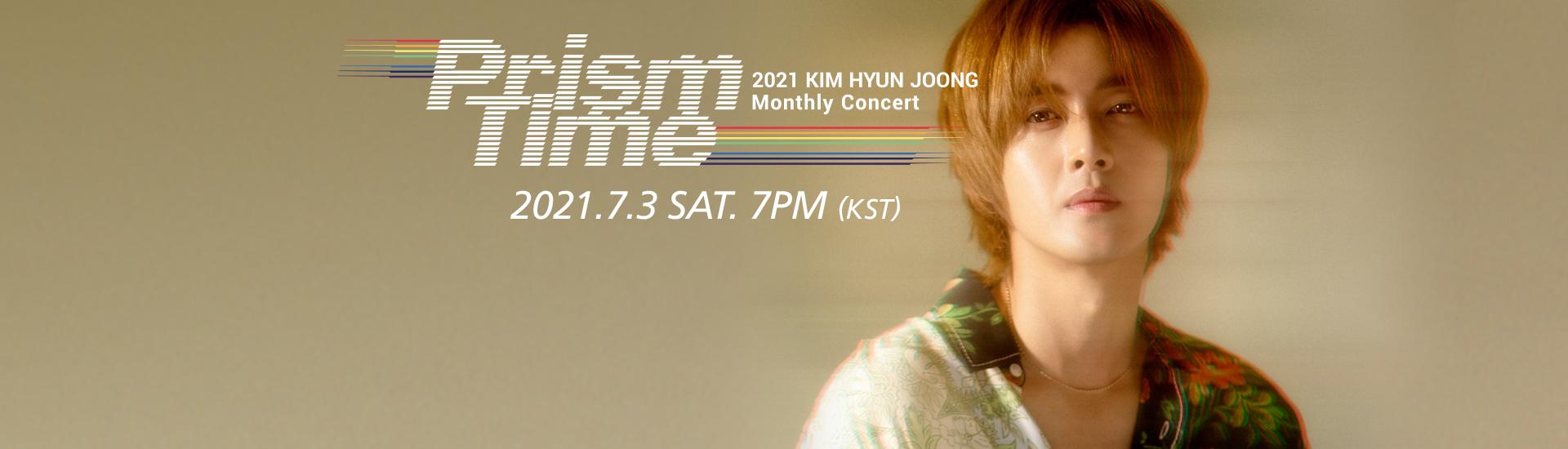 Kim Hyun Joong - KIM HYUN JOONG Monthly Concert 'Prism Time' [Yellow]