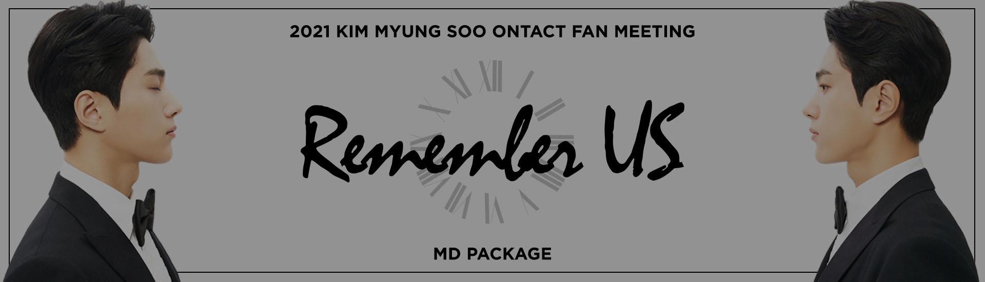 KIM MYUNG SOO - 2021 KIM MYUNG SOO ONTACT FAN MEETING MD PACKAGE