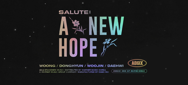 the poster of 3RD EP REPACKAGE [SALUTE : A NEW HOPE] VIDEO CALL EVENT
