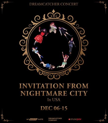 the poster of DREAMCATCHER CONCERT : Invitation from Nightmare City in Jersey City