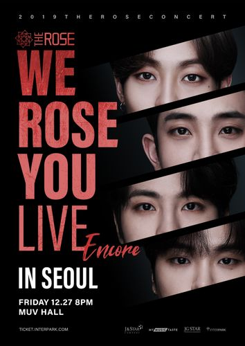 the poster of We Rose You Live Encore in Seoul
