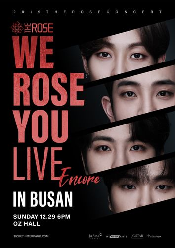 the poster of We Rose You Live Encore in Busan
