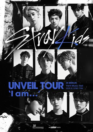 the poster of Stray Kids UNVEIL TOUR 'I am …' in BERLIN