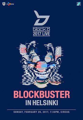 the poster of 2017 LIVE BLOCKBUSTER IN HELSINKI