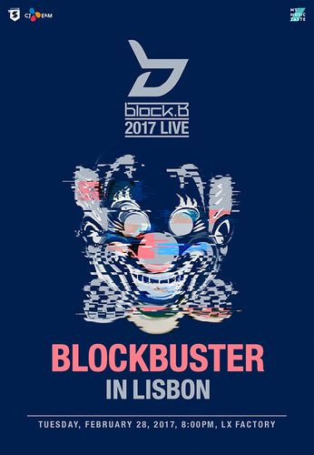 the poster of 2017 LIVE BLOCKBUSTER IN LISBON