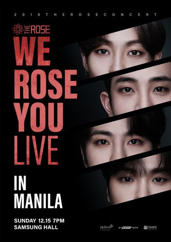 the poster of We Rose You Live in Manila