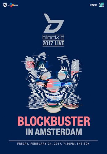 the poster of 2017 LIVE BLOCKBUSTER IN AMSTERDAM